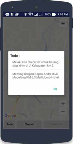 JASA PEMBUATAN APLIKASI ANDROID TRACKING MARKETING